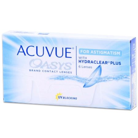 Acuvue Oasys for ASTIGMATISM 6pk