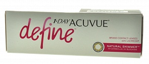 1-DAY Acuvue Define Shimmer 30pk