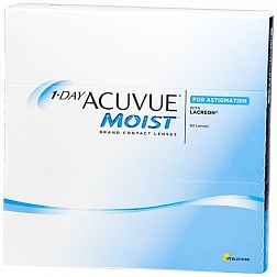 1-DAY Acuvue Moist for ASTIGMATISM 90pk